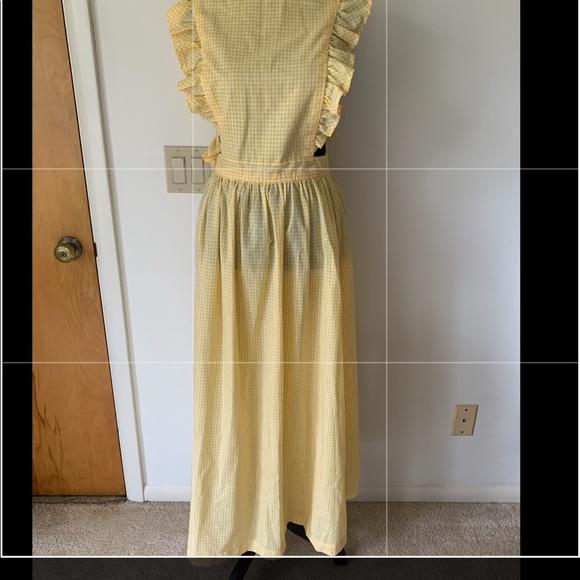 Vintage long apron